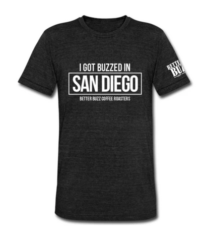 I Got Buzzed In San Diego Tee