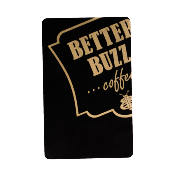 Loyalty Black Card $100 - Better Buzz Coffee