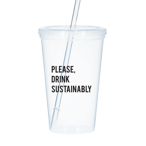 Sustainability Cold Tumbler - Better Buzz Coffee