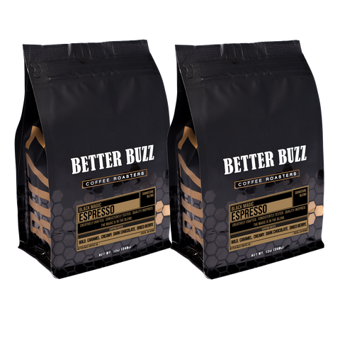 Black Magic Espresso Subscription - Better Buzz Coffee