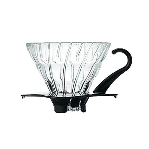 V60 Glass Dripper 01 - Black - Better Buzz Coffee