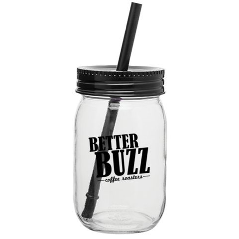 Better Buzz Mason Jar Tumbler - Better Buzz Coffee