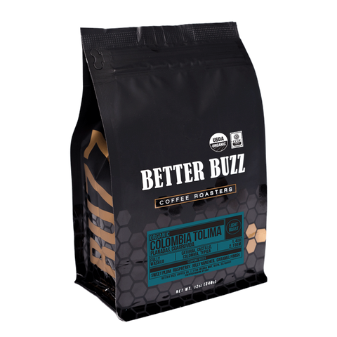 Organic Colombia Tolima, Planadas Coagrovida - Better Buzz Coffee