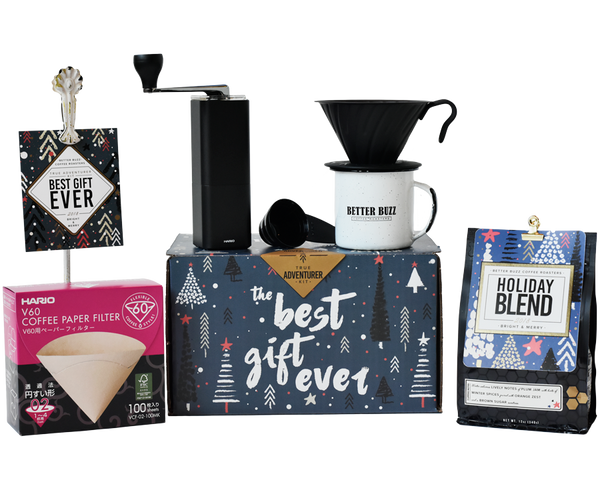 Best Gift Ever - True Adventurer Kit - Better Buzz Coffee