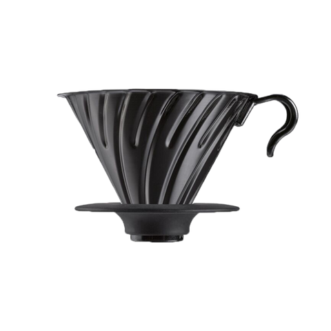 V60 Metal Dripper 02 - Matte Black - Better Buzz Coffee
