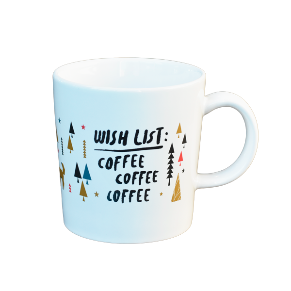 Wish List - Holiday Mug - Better Buzz Coffee
