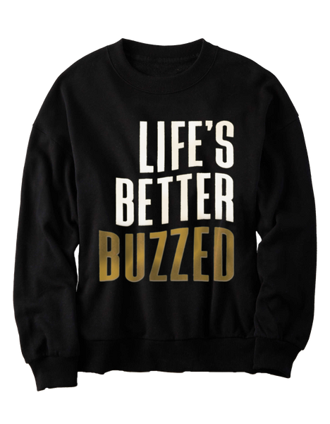 LBB Pullover Crewneck - Better Buzz Coffee