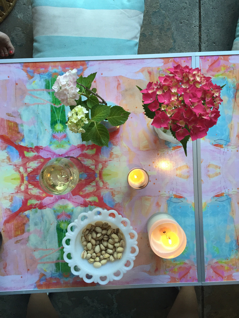 Painterly Party Table