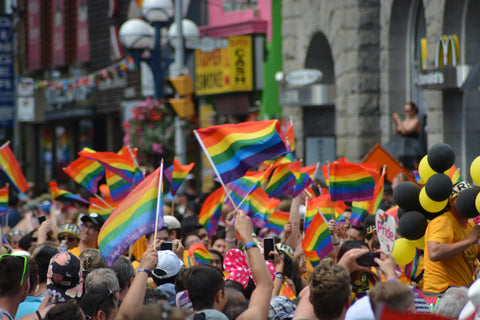 Gay Pride celebrate sexual diversity community LBGTQ