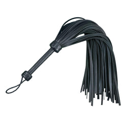 "Whip - Leather 30"" Heavy Duty Mop 72 fall Black Flogger-FET-The Love Zone"