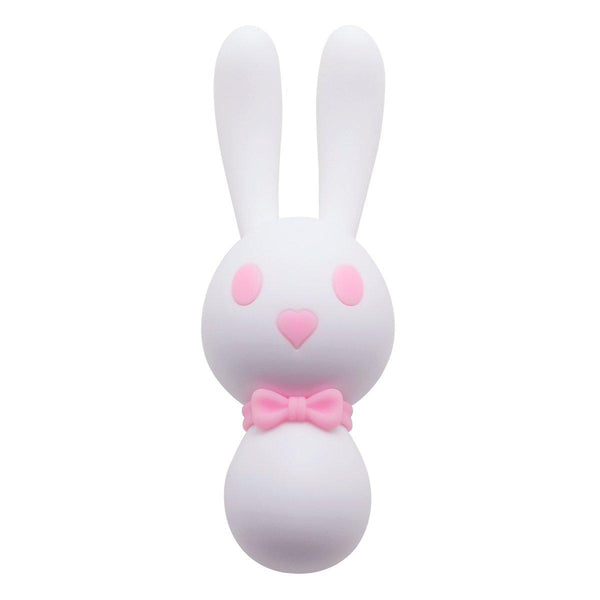 "Vibrator - Clitoral Style Blushing ""Rave Bunny"" Vibrator - with Cute Light-Show Modes"