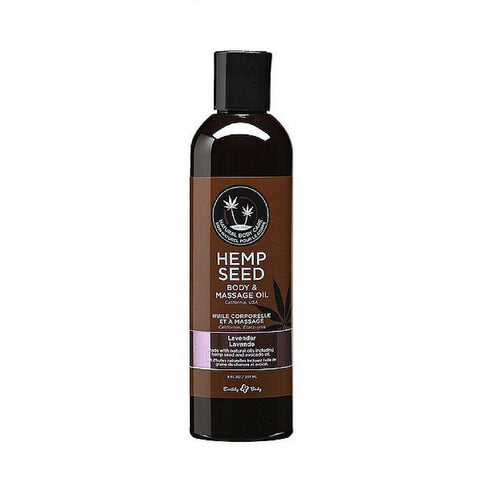 Earthly Body Massage Oil - 8 oz Lavender