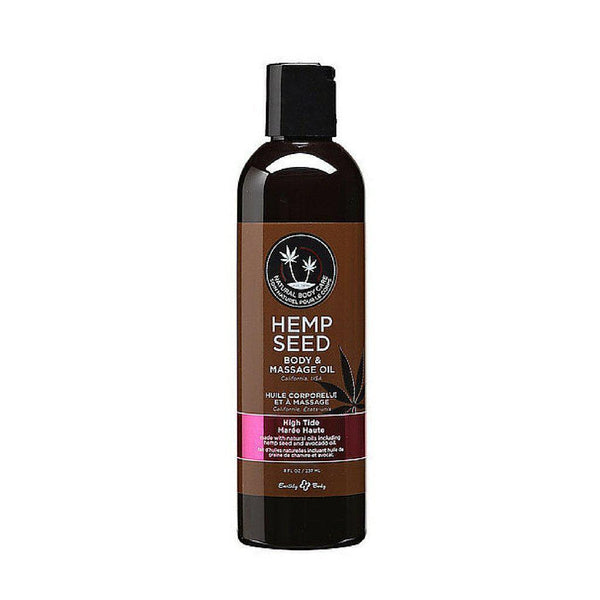 Massage - Earthly Body Massage Oil - 8 oz High Tide-Games & Massage-The Love Zone