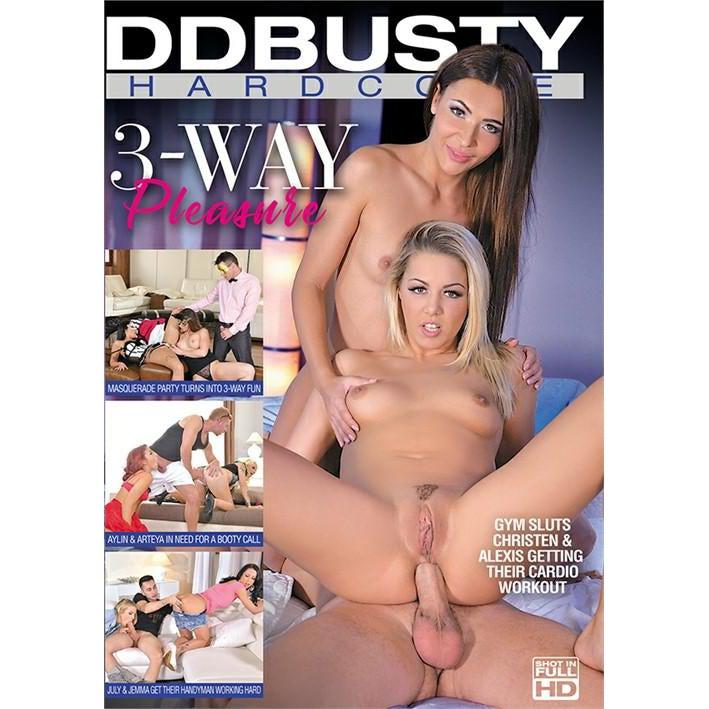 Adult Movie - 3 way Pleasure-DVDC-The Love Zone