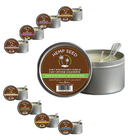 Earthly Body Soy & Hemp Candle Skinny Dip