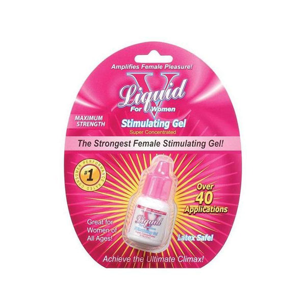 Arousal - Liquid V Female Stimulant 10 ml Bottle - 40 Applications-AP-The Love Zone