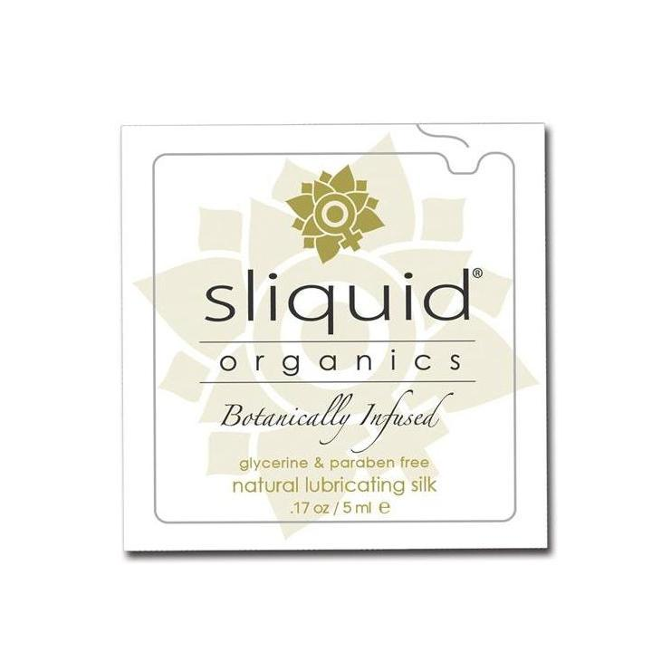 Lubricant Hybrid - Sliquid Organics Silk Lubricant - 4.2 oz-Lubes & Lotion-The Love Zone