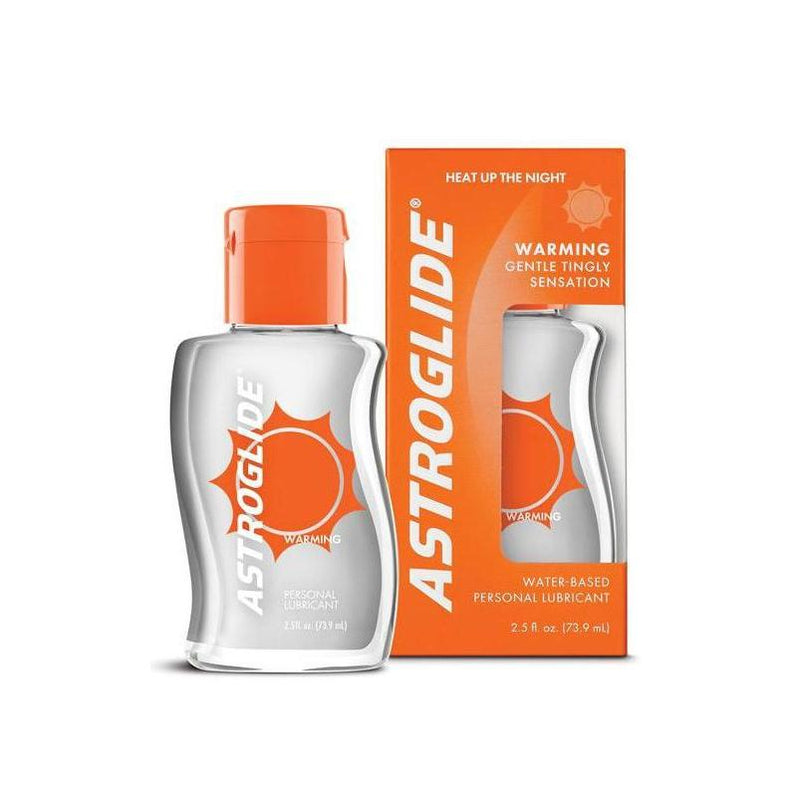 Lubricant Specialty - Astroglide Warming Liquid - 2.5 oz Bottle-Lubes & Lotion-The Love Zone