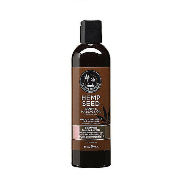Massage - Earthly Body Massage Oil - 8 oz Skinny Dip-MAS-The Love Zone