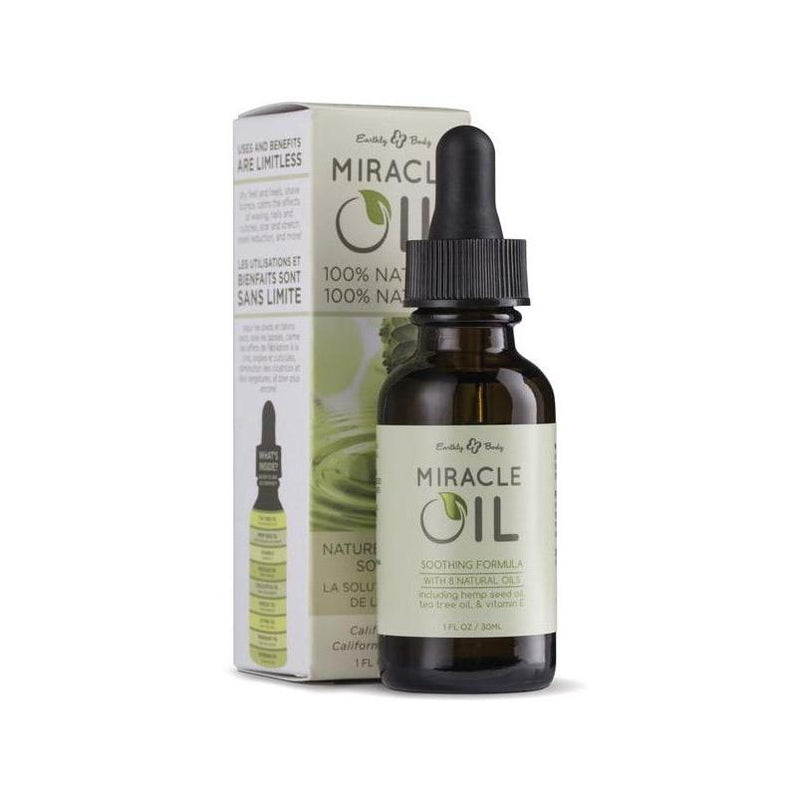 Bath & Body - Earthly Body Hemp Miracle Oil - 1 oz-Games & Massage-The Love Zone