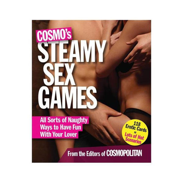 Adult Game - Cosmo's Steamy Sex Games New Edition