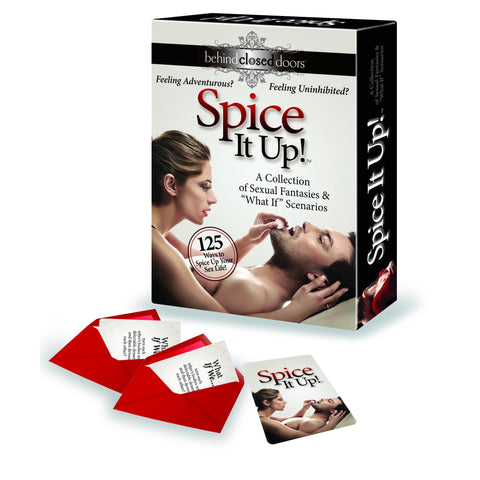 Adult Sex Game - Behind Closed Doors - Spice it Up Fantasy Challenge Game