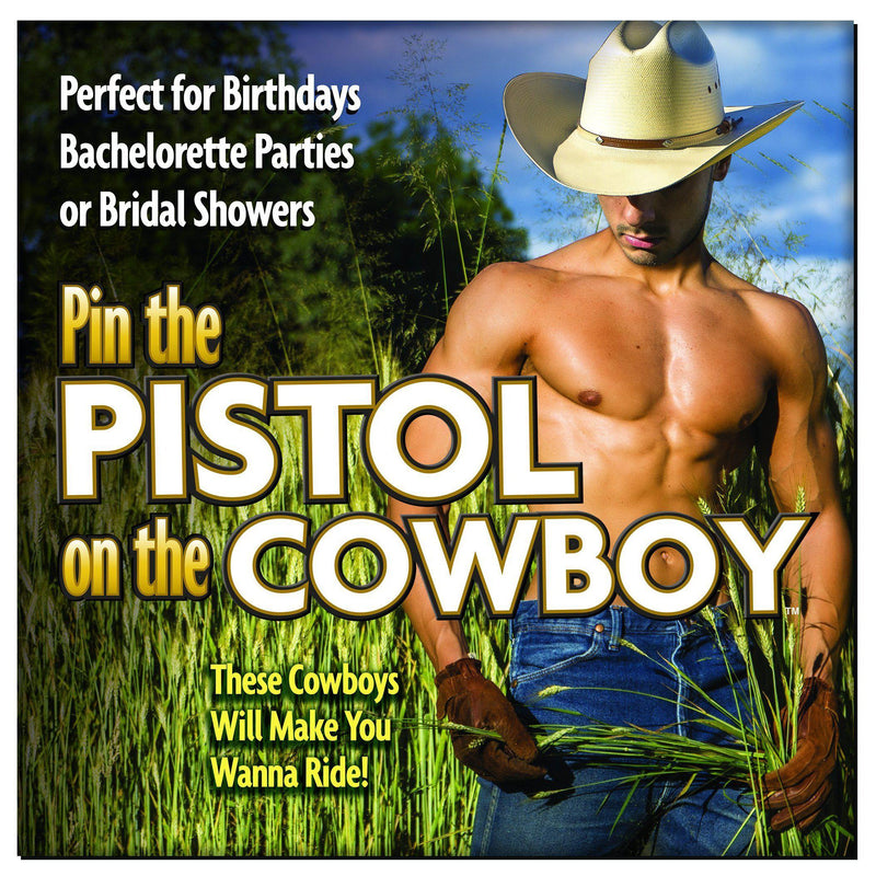 Pin the Pistol on the Cowboy-Bachelorette & Parties-The Love Zone