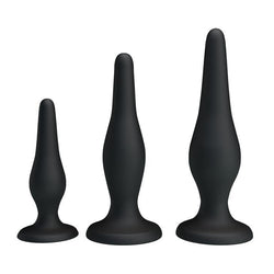 Butt Plug Kit - Beginner's Anal Plug Kit