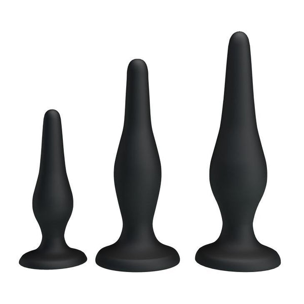 Butt Plug Kit - Beginner's Anal Plug Kit-TPLUG-The Love Zone