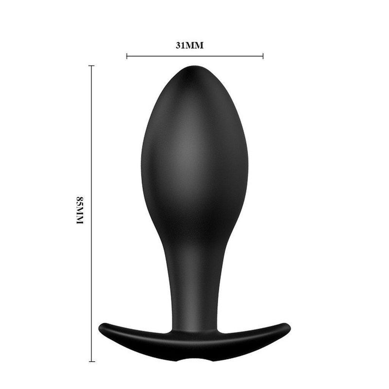 Butt Plug - Silicone Vibrating 12 Function Silicone Butt Plug-TPLUG-The Love Zone