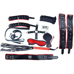 Bondage Kit - Deluxe Bondage Kit 14 pcs.-FBOND-The Love Zone