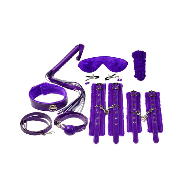 Bondage Kit - Everything Bondage Kit 12 pcs. (Purple)-FBOND-The Love Zone