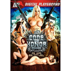 Adult Movie - Code of Honor - DVD / Blu-Ray Combo Pack-DVDC-The Love Zone