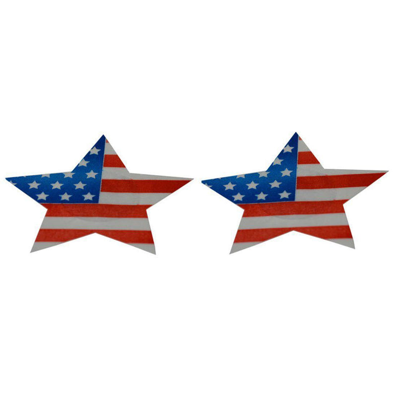 Pasties Star USA Flag Nipple Covers 5 pair-ACCES-The Love Zone