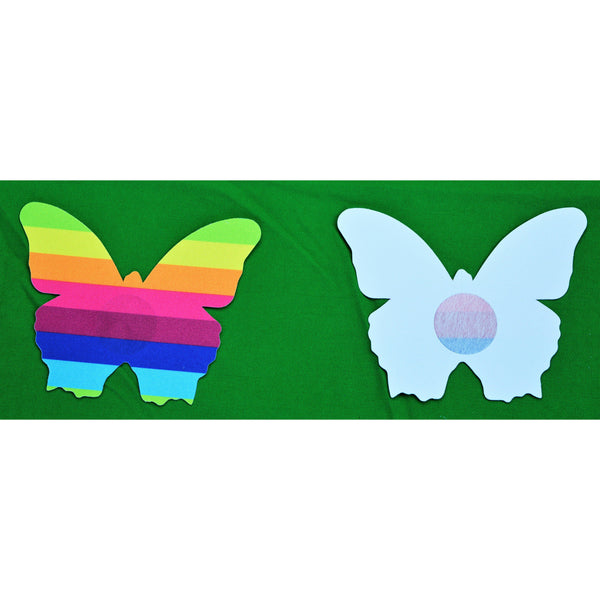 Butterfly Rainbow 5 pack Nipple covers Paistees-ACCES-The Love Zone