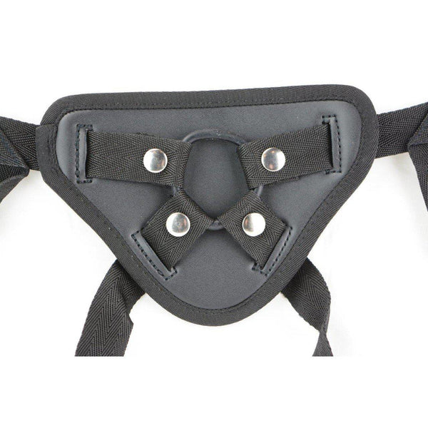 Strap On - Harness Black Pvc Harness-TSTRA-The Love Zone
