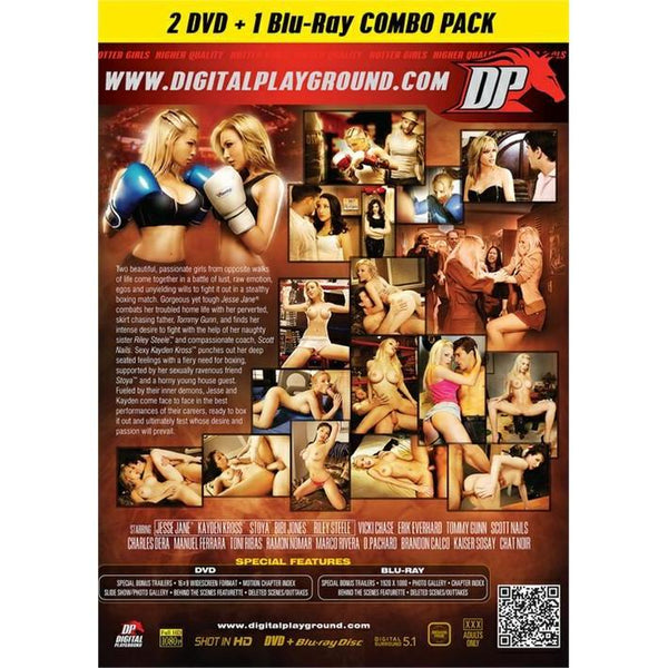 Adult Movie - Fighters - 2 DVD + 1 Blu-Ray Combo Pack