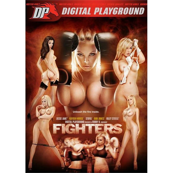 Adult Movie - Fighters - 2 DVD + 1 Blu-Ray Combo Pack-DVDC-The Love Zone