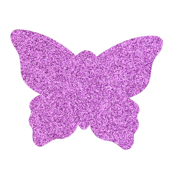 Pasties Fuchsia Glitter Butterfly Nipple Covers 5 Pair-ACCES-The Love Zone