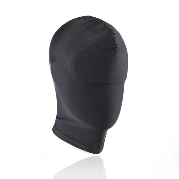 Hood Mask - Spandex Deprivation Gimp Mask with Padded Eyes-FETW-The Love Zone