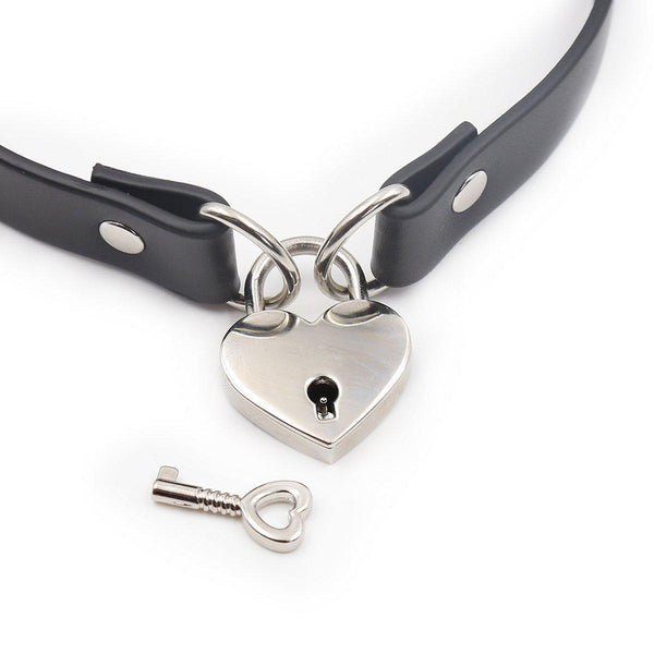 Collar - Lock Connector Neck Collar with Key-FET-The Love Zone