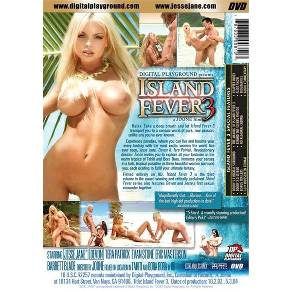 Adult Movie - Island Fever #3 - 2 Disc DVD Collector's Set