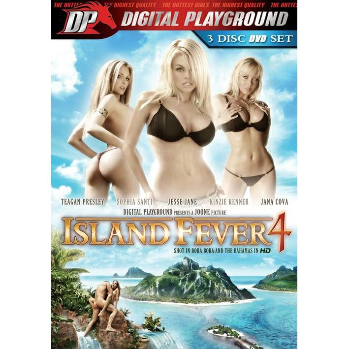 Adult Movie - Island Fever #4 - 3 Disc DVD Set-DVDC-The Love Zone