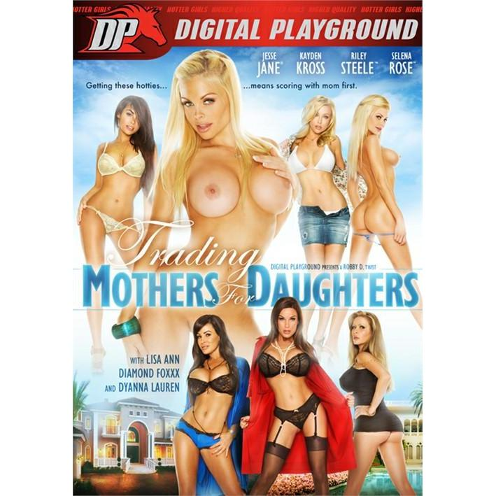 Adult Movie - Trading Mothers for Daughters - DVD / Blu-Ray Combo Pack-DVDC-The Love Zone
