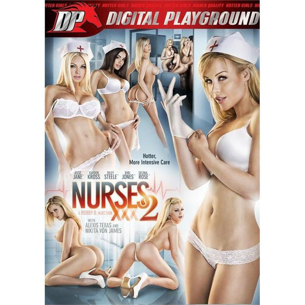 Adult Movie - Nurses #2 - 2 DVD + 1 Blu-Ray Combo Pack-DVDC-The Love Zone