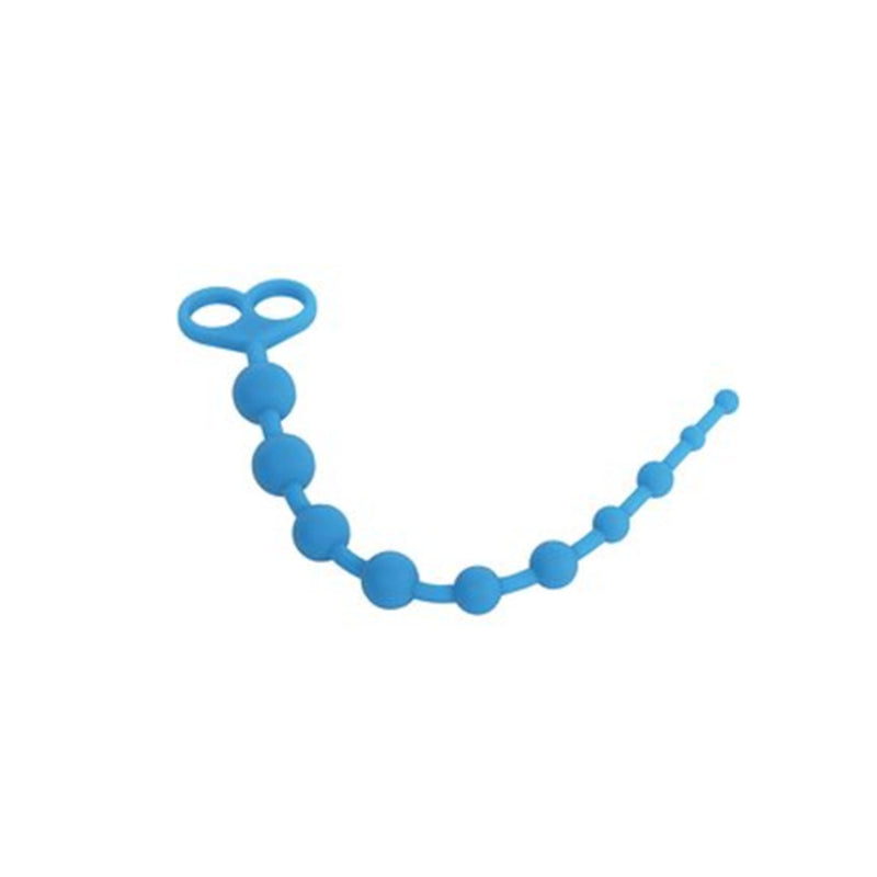 Anal Beads - X-10 Style Silicone Anal Beads-Anal-The Love Zone