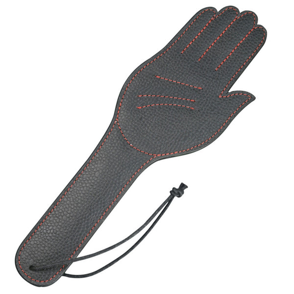 Paddle - Leather Hand Paddle-FET-The Love Zone