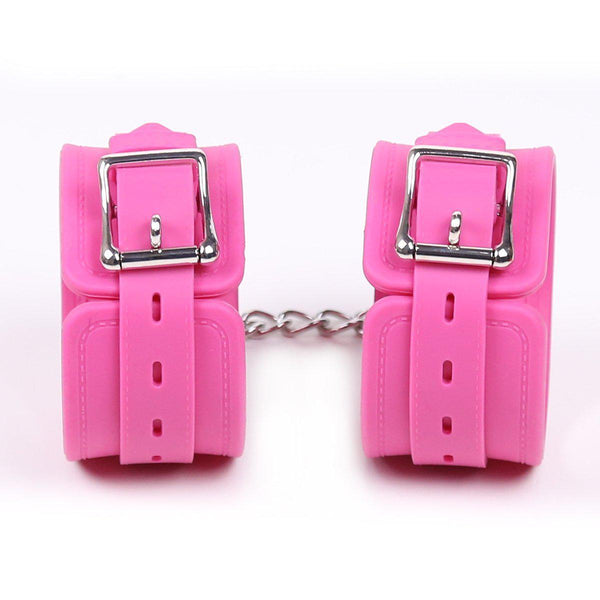 Cuff Ankle - Silicone Restraints Pink-FBOND-The Love Zone