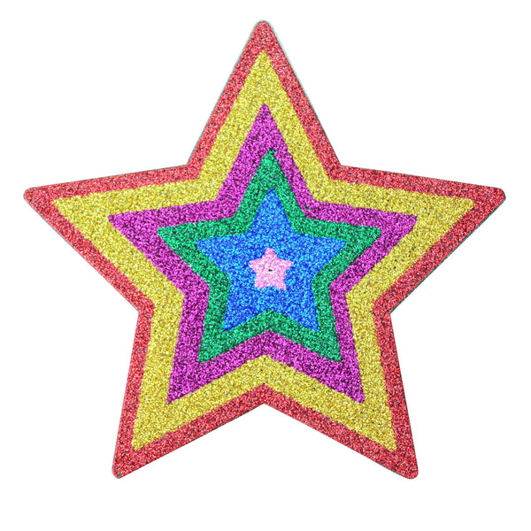Star Cartoon Glitr Pasties 5pk wonder women-ACCES-The Love Zone