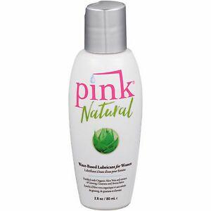 Lubricant Water Based - Pink Natural 2.8 oz-LUB-The Love Zone